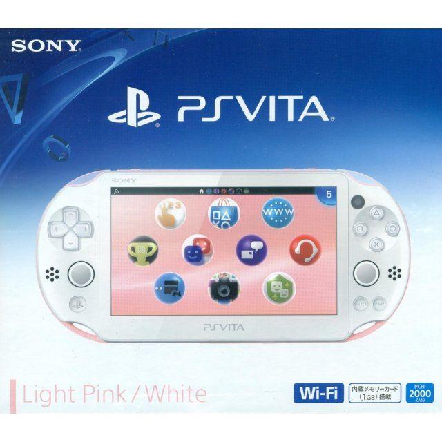 Ps Vita Playstation Vita New Slim Model Pch 2000 Light