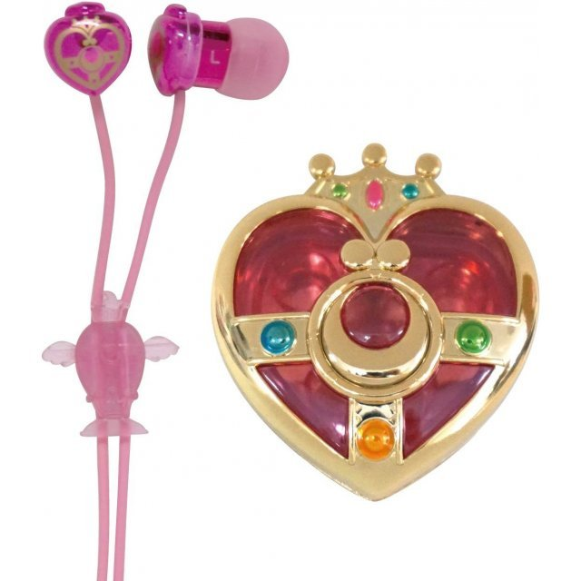 Sailor Moon Compact Earphone Case: Cosmic Heart