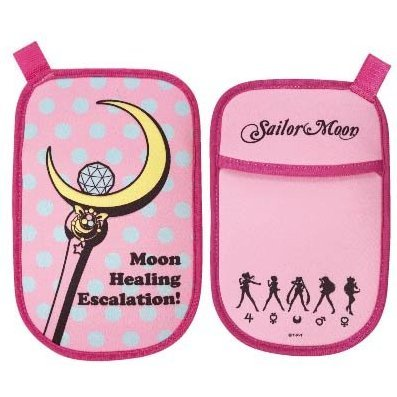 gourmandise Sailor Moon Portable Multi Pouch: Moon Stick