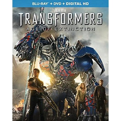 Transformers: Age of Extinction [Blu-ray+DVD+Digital HD]