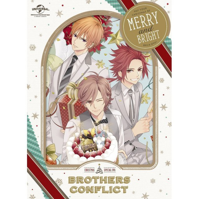 Ova Brothers Conflict First Volume Seiya Deluxe Edition [DVD+2CD Limited Edition]