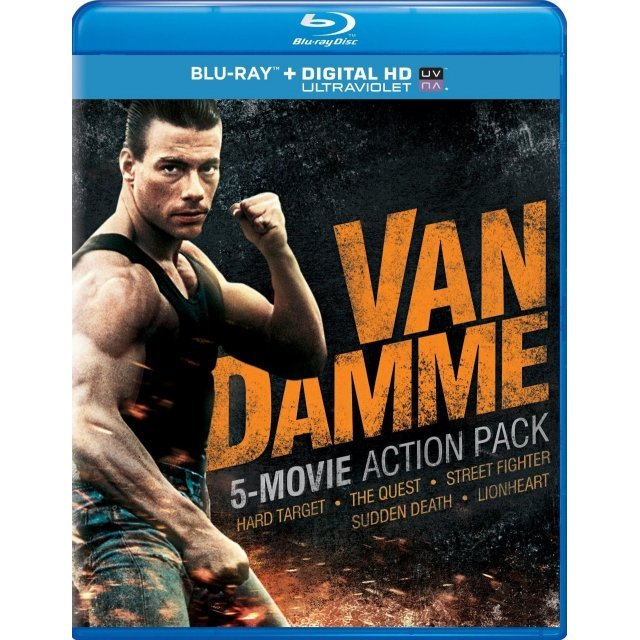 Van Damme 5-Movie Action Pack [Blu-ray+Digital Copy+UltraViolet]