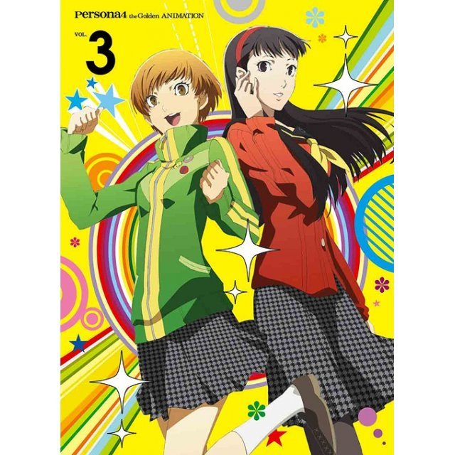 Persona4 The Golden Vol.3 [Blu-ray+CD Limited Edition]
