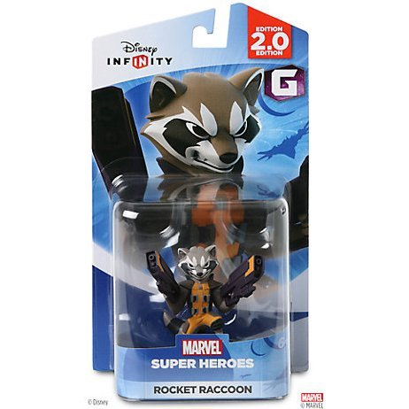 Disney Infinity Marvel Super Heroes (2.0 Edition) Figure: Rocket Raccoon
