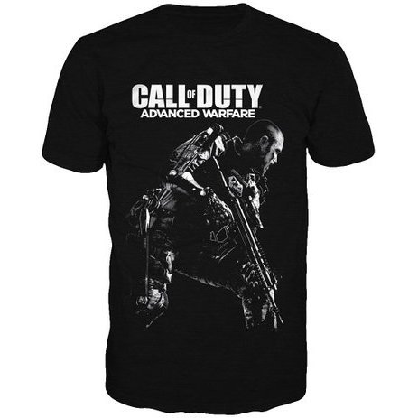 Activision Call of Duty: Advanced Warfare Soldier Shirt - Men (Black) (XL)