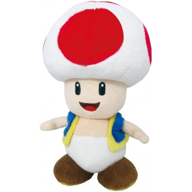 Super Mario All Star Collection Plush: AC04 Toad (Small)