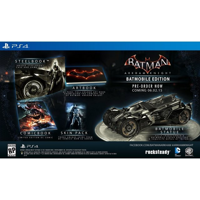Batman: Arkham Knight (Batmobile Edition)
