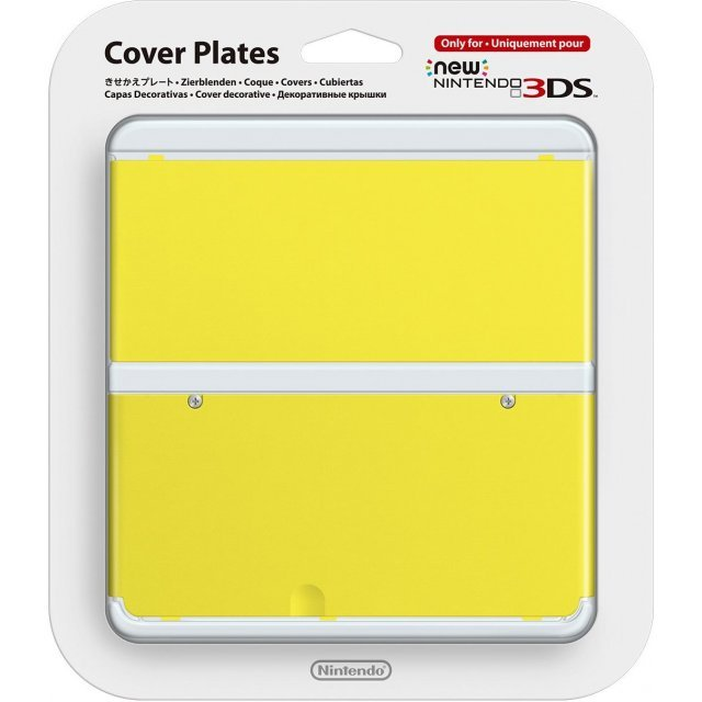 New Nintendo 3DS Cover Plates No.009 (Yellow)