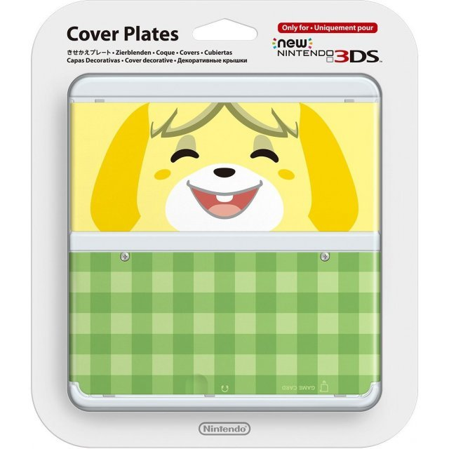 New Nintendo 3DS Cover Plates No.013 (Animal Crossing Shizue)