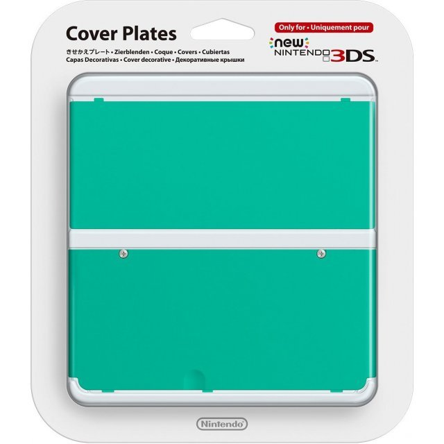 New Nintendo 3DS Cover Plates No.036 (Green)
