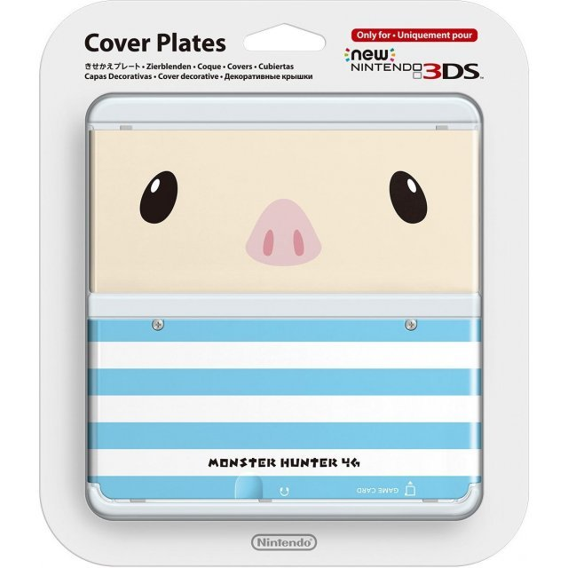 New Nintendo 3DS Cover Plates No.038 (Monster Hunter Poogie)