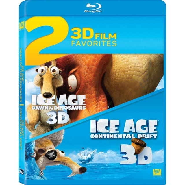 2 3D Film Favorites - Ice Age 3 and 4