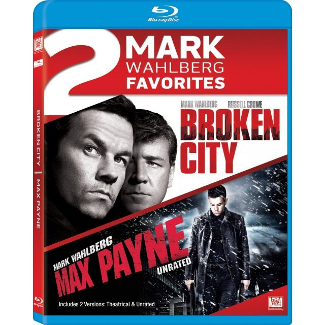 2 Mark Wahlberg Favorites - Broken City / Max Payne