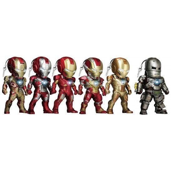 Iron Man 3 Kids Nation Series 003: Earphone Jack Accessories (Set of 6 pieces)