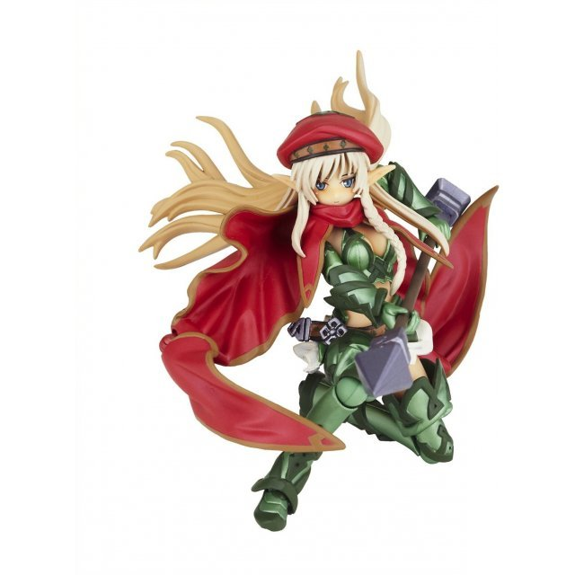 Legacy Of Revoltech Queen's Blade Series: Fighting Master Alleyne