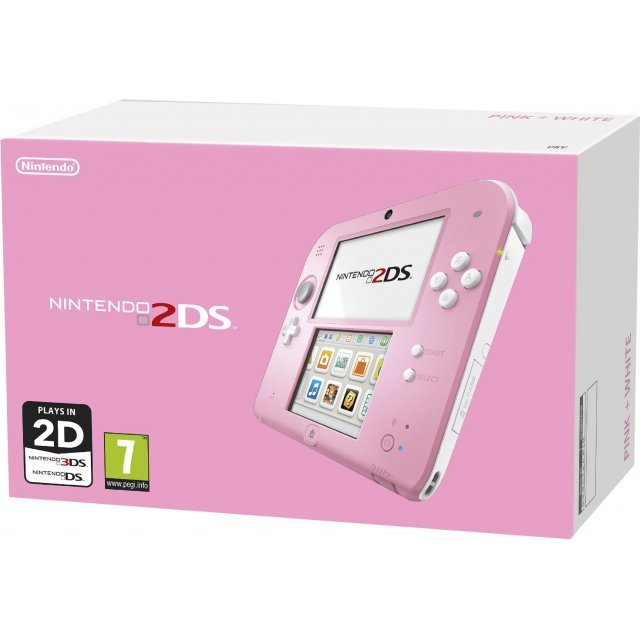 Nintendo 2DS (Pink/White)