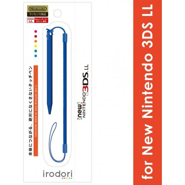Touch Pen Leash for New 3DS LL (Blue)