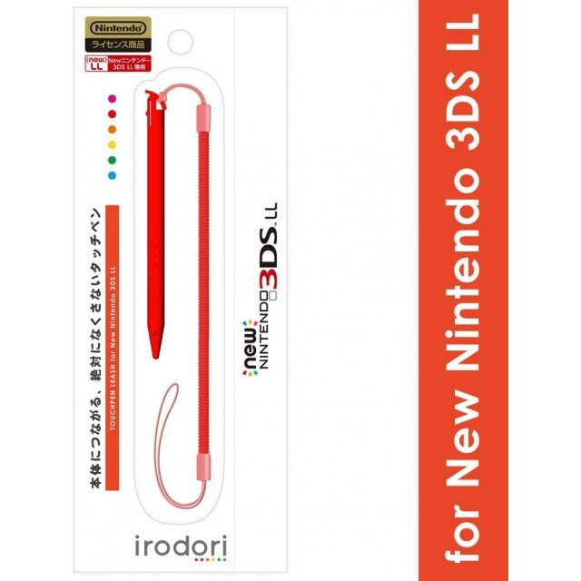 Touch Pen Leash for New 3DS LL (Red)