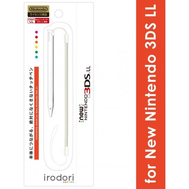 Touch Pen Leash for New 3DS LL (White)