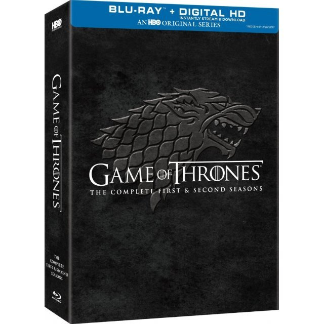 Game of Thrones: Complete First & Second Seasons [Blu-ray+DVD+UltraViolet]