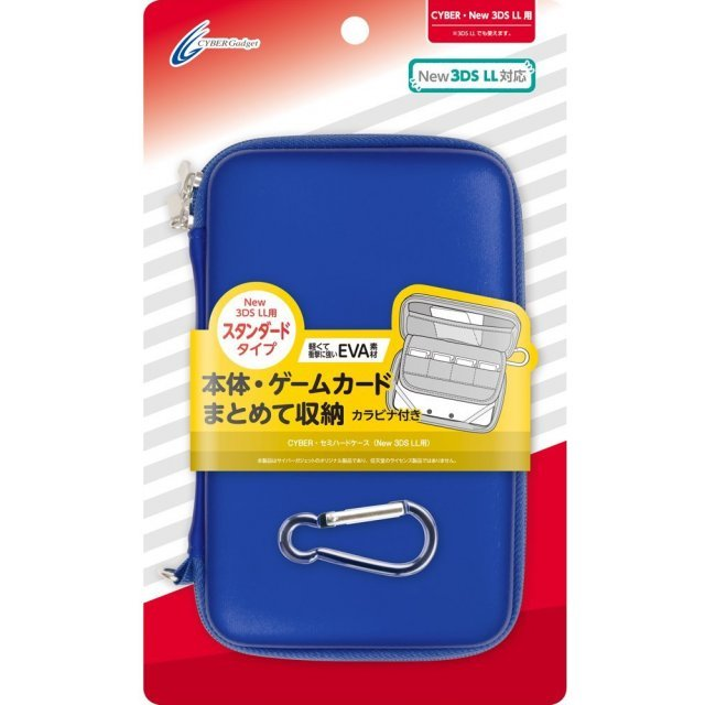 Semi Hard Case for New 3DS LL (Navy)
