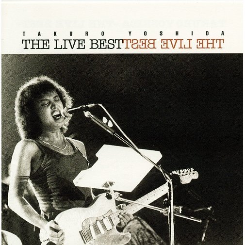 Golden Best Yoshida Takuro The Live Best [Limited Pressing]