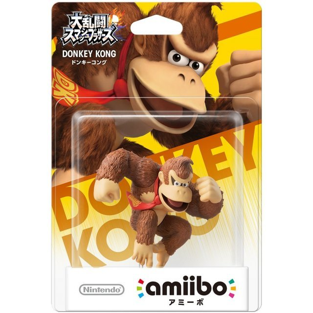 amiibo Super Smash Bros. Series Figure (Donkey Kong)
