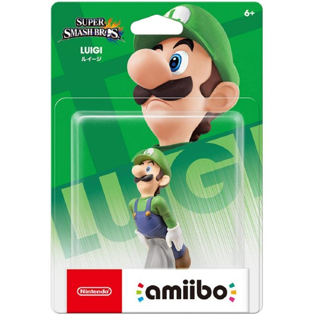 amiibo Super Smash Bros. Series Figure (Luigi) (Re-run)