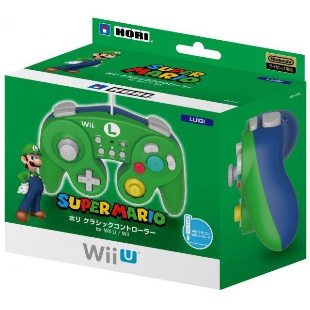 Classic Controller for Wii U (Luigi)