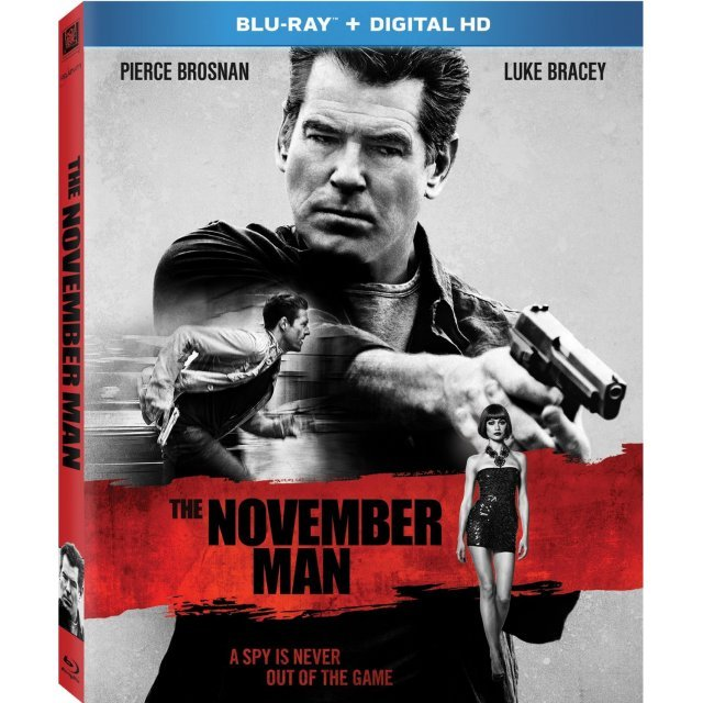 The November Man [Blu-ray+Digital HD]