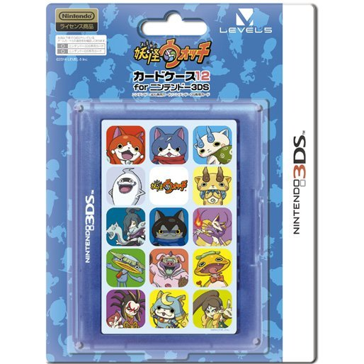 3DS Card Case 12 (Youkai Watch)