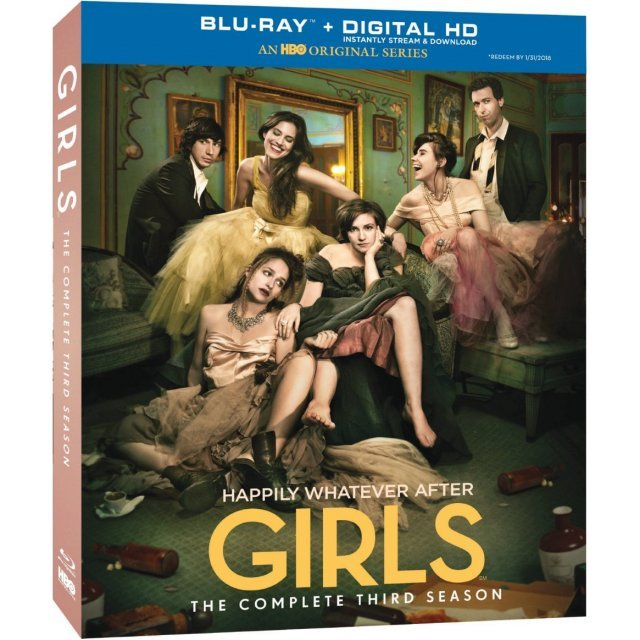 Girls: The Complete Third Season [Blu-ray+DVD+Digital Copy+UltraViolet]