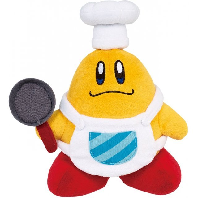 Kirby All Star Collection Plush: Chef Kawasaki (Small)