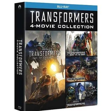 Transformers 1-4 [4-Movie Collection Box Set]
