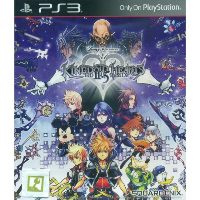 Kingdom Hearts HD 2.5 ReMIX (English)