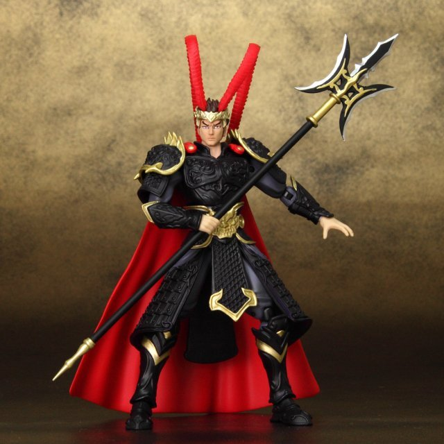 legends of the three kingdoms action figure ryukon lu bu