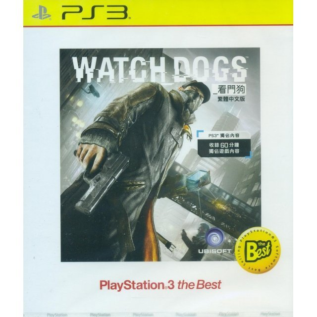 Watch Dogs (Playstation 3 the Best) (Chinese Sub)