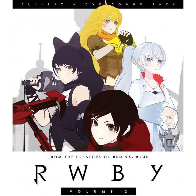 RWBY: Volume 2 [Blu-ray+DVD]