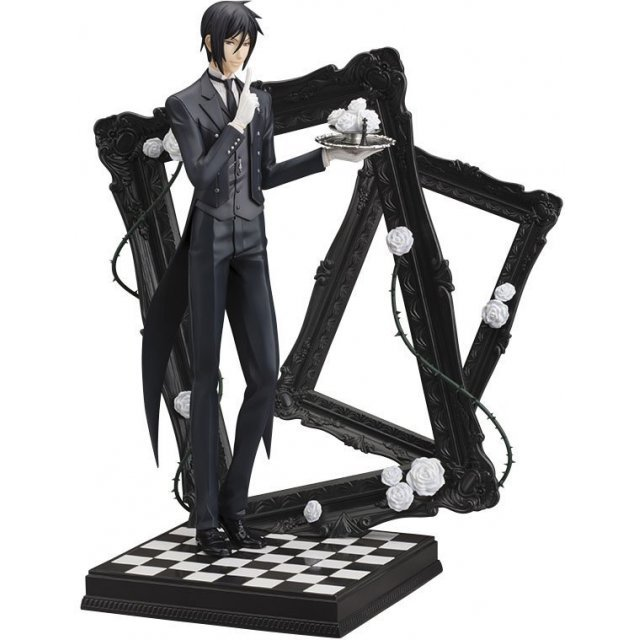 ARTFX J Black Butler Book of Circus 1/8 Scale Pre-Painted Figure: Sebastian Michaelis (Re-run)