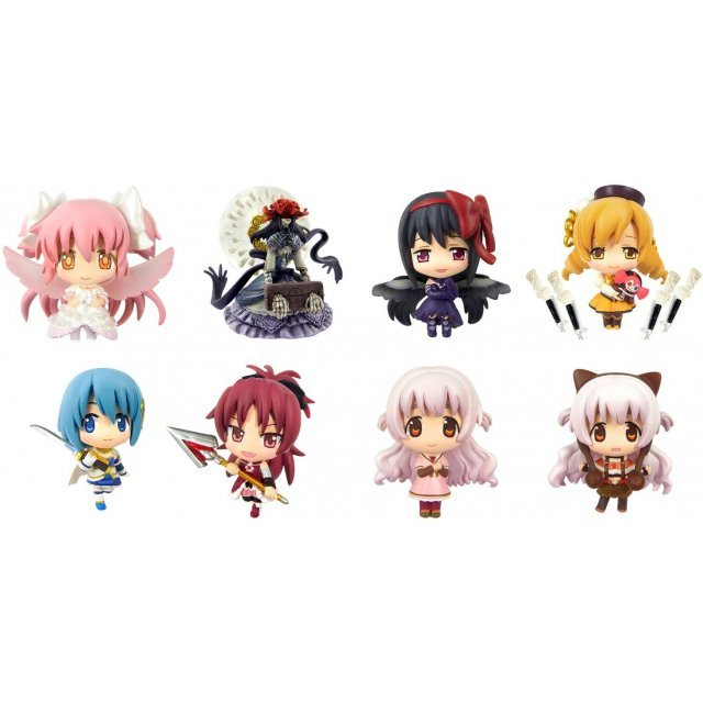 Color Collection DX Puella Magi Madoka Magica The Movie Part 3: Rebellion (Set of 8 pieces)