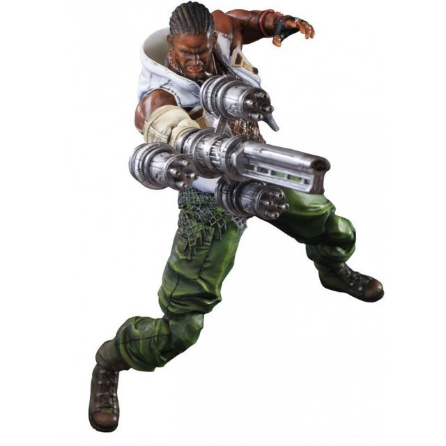 Final Fantasy VII Advent Children Play Arts Kai: Barret Wallace