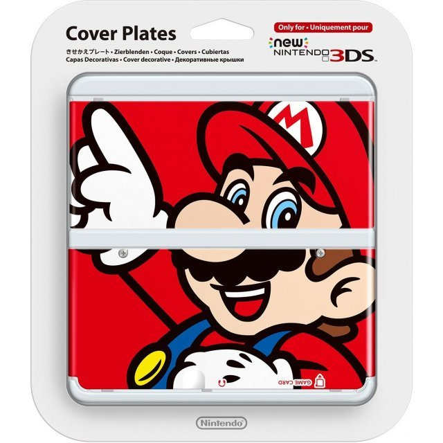 New Nintendo 3DS Cover Plates No.001 (Mario) (Slight damage on package)