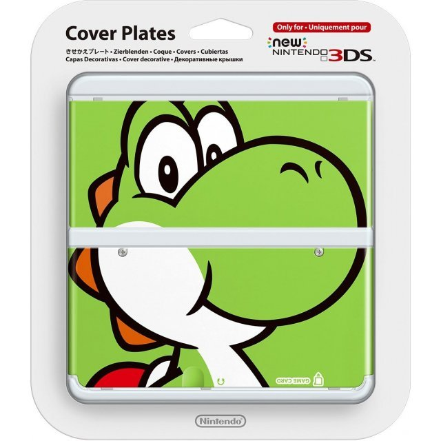 New Nintendo 3DS Cover Plates No.004 (Yoshi) (Slight damage on package)