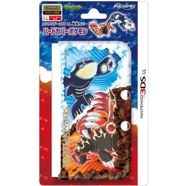 Pokemon Hard Cover for 3DS LL (Genshi Kaiki)