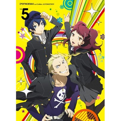 Persona 4 The Golden Vol.5 [Blu-ra+CD Limited Edition]
