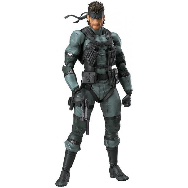 figma 243 Metal Gear Solid 2 Sons of Liberty: Solid Snake MGS2 Ver.