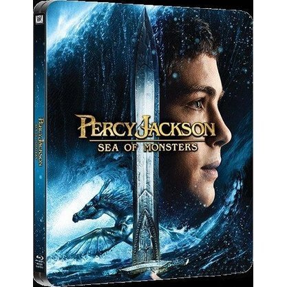 Percy Jackson: Sea of Monsters Steelbook [3D+2D]
