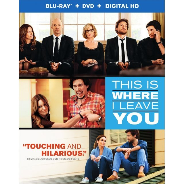 This Is Where I Leave You [Blu-ray+DVD+Digital Copy+UltraViolet]