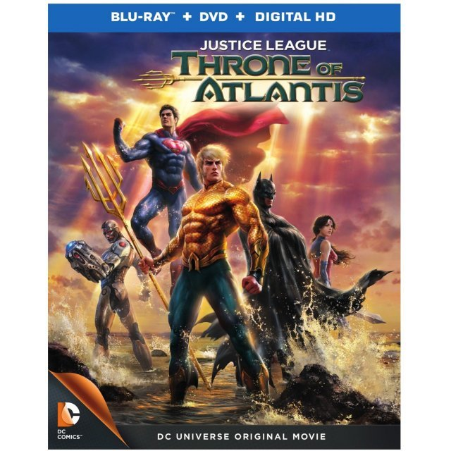 Justice League: Throne of Atlantis [Blu-ray+DVD+UltraViolet]