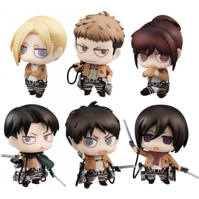 Attack on Titan Collection Figure (Set of 6 pieces)